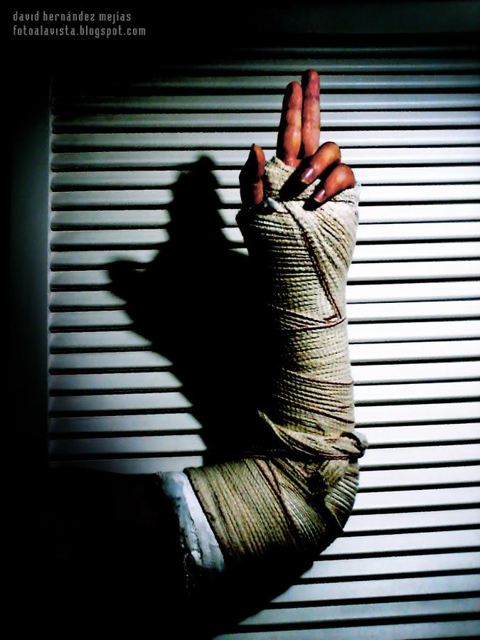La mano que bendice