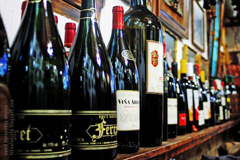 De la viña a las botellas