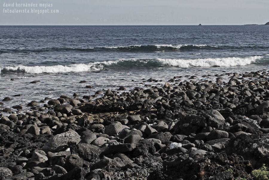 Inhóspita playa... y sin embargo...