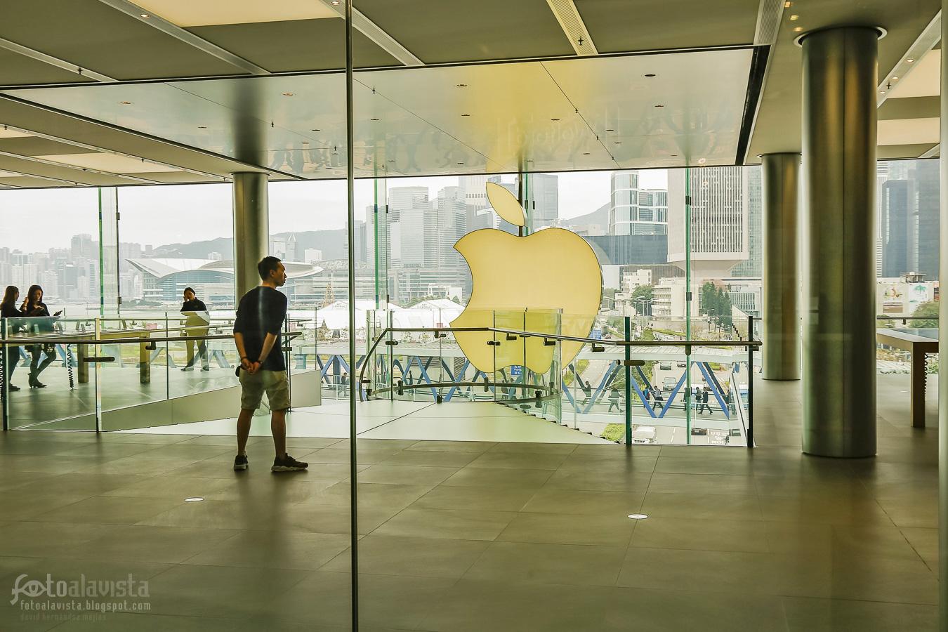 Frente a la gran manzana - Fotografía artística