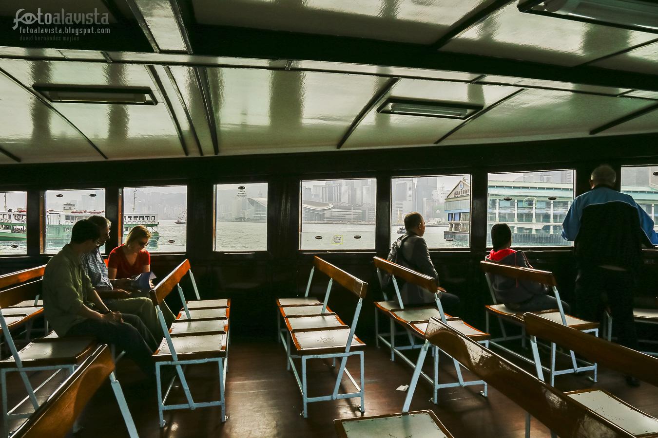 Por las ventanas del ferry - Fotografía artística