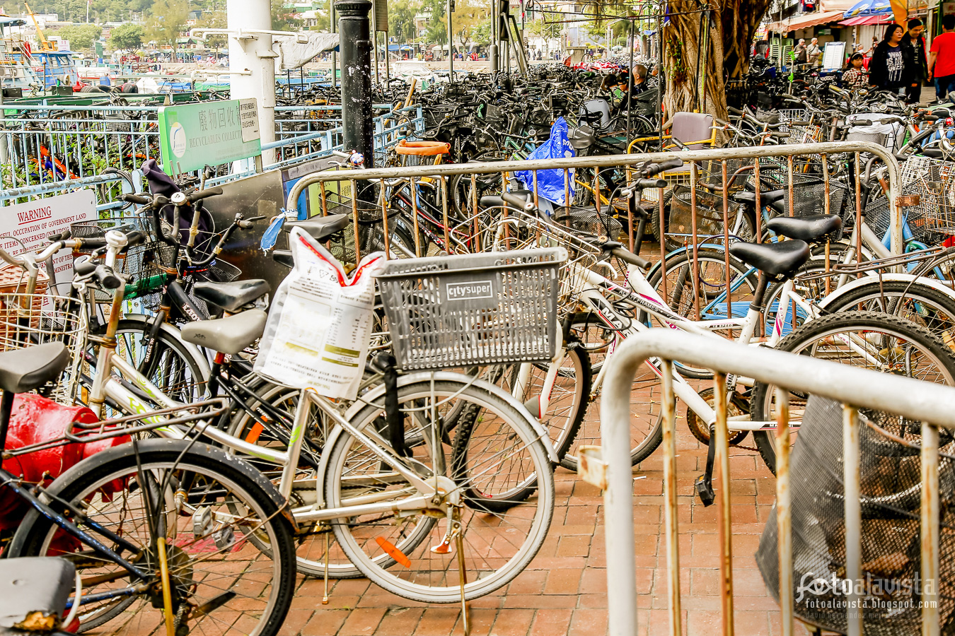 Ocupación de bicicletas - Fotografía artística