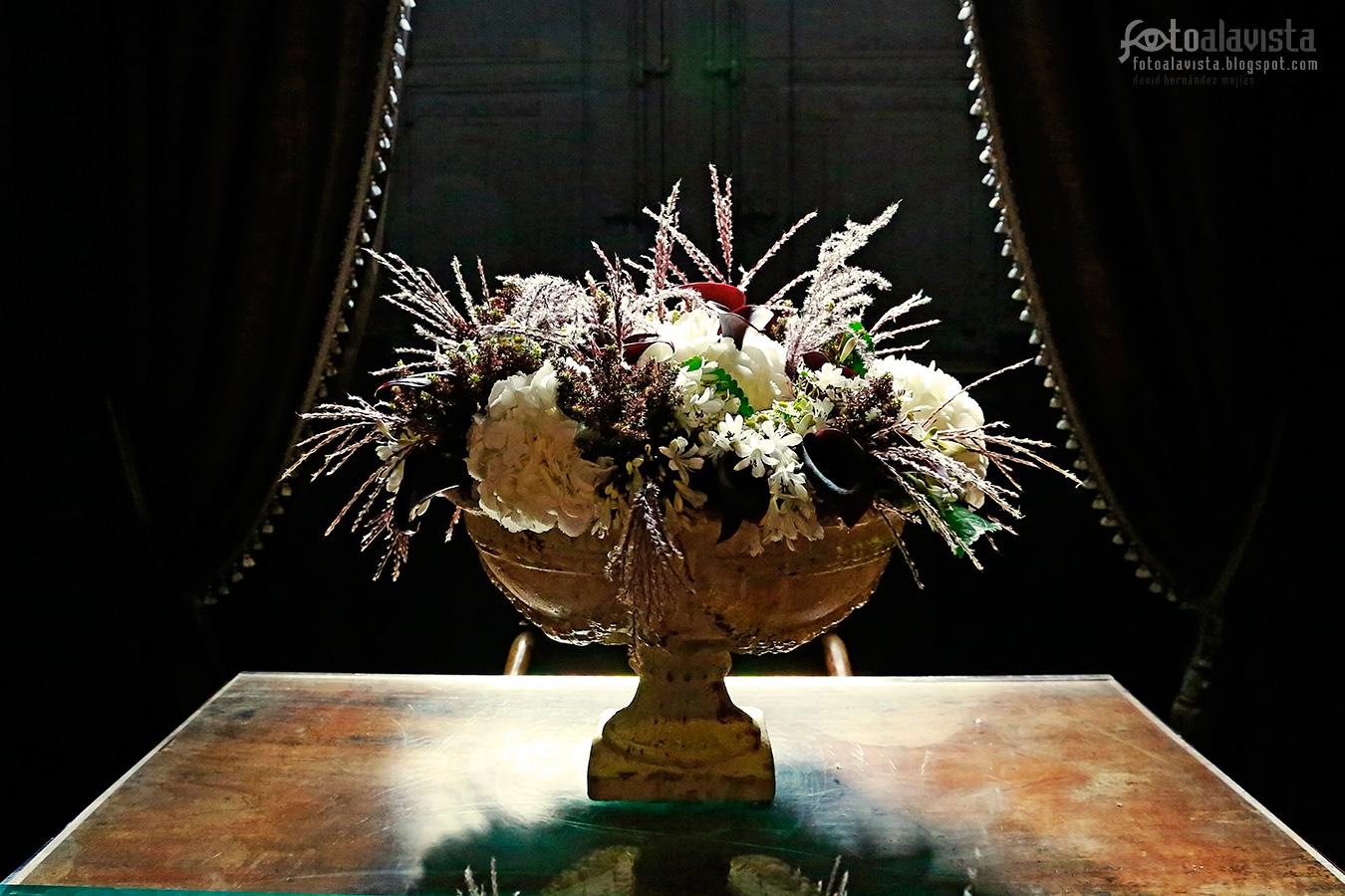 Teatral centro floral - Fotografía