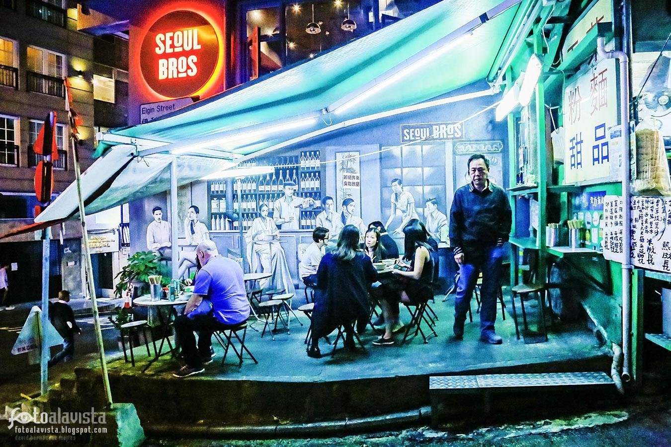 Seoul Bros - Bar con alma - Fotografía artística
