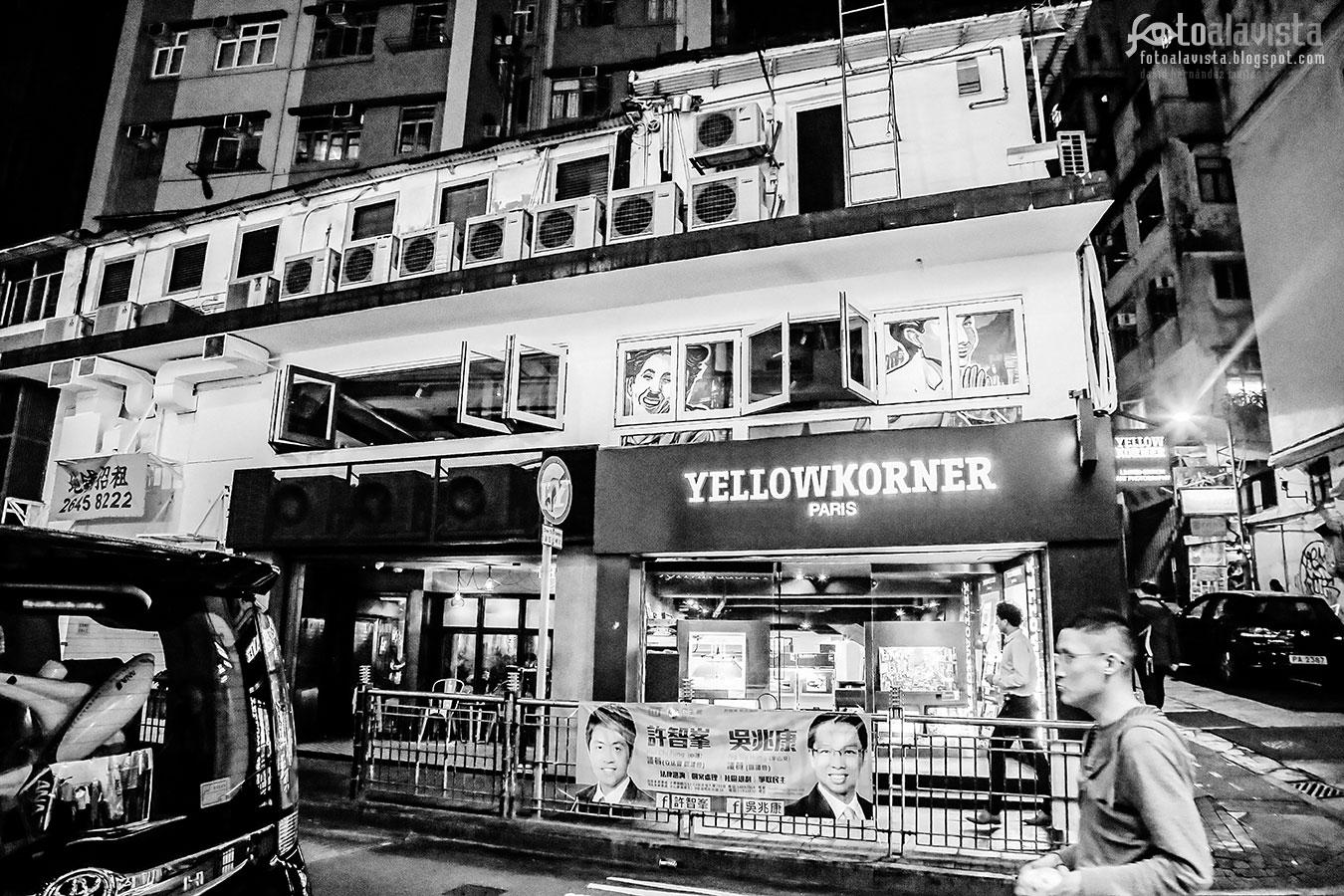 Yellow Corner - Fotografía artística