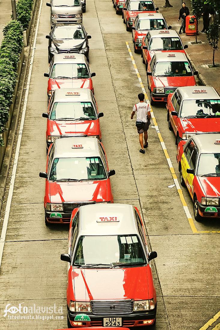 Entre taxis - Fotografía artística