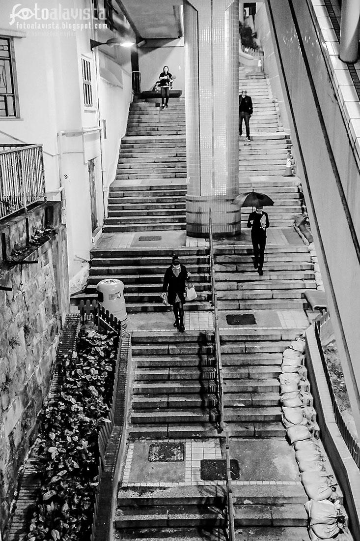 Escaleras y más escaleras - Fotografía artística