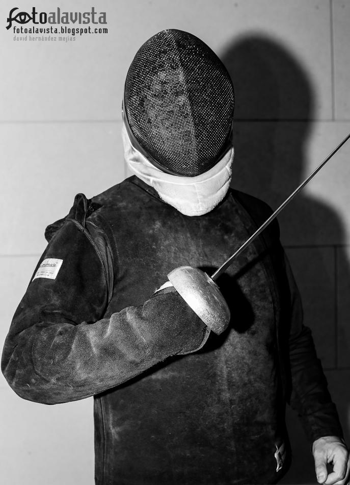 El maestro de esgrima - Fotografía creativa - Fotografía artística