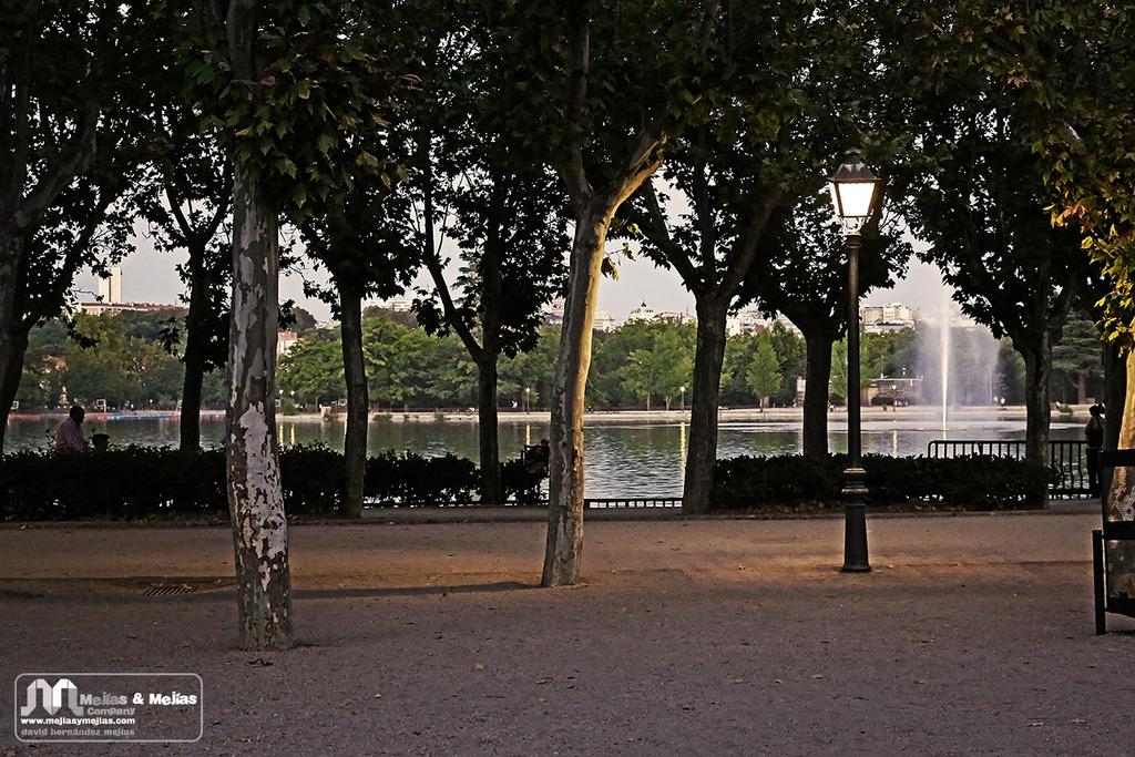 Otro Madrid a la luz de una farola - Fotografía artística
