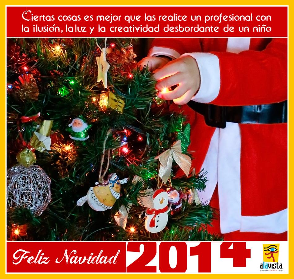 Feliz  Navidad 2014 Alavista. Fotografía creativa - Fotografía decorativa