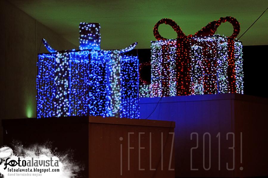 ¡Feliz 2013! Regalos iluminados