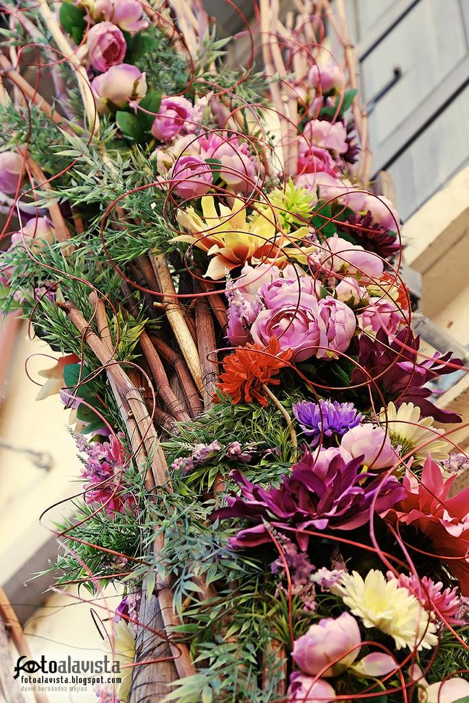 Bouquet en las alturas. Fotografía creativa - Fotografía artística