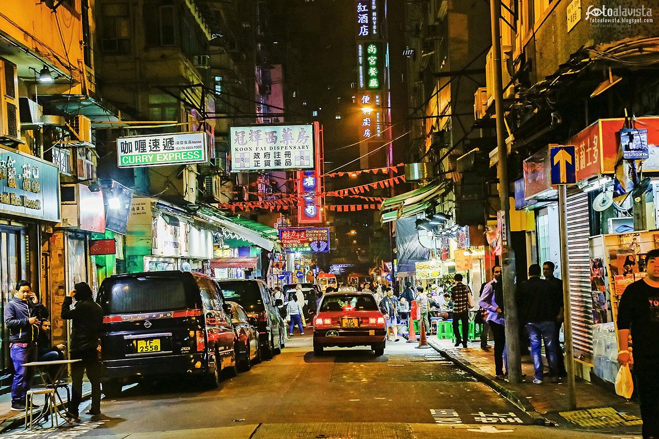 Curry Express en Hong Kong - Fotografía artística
