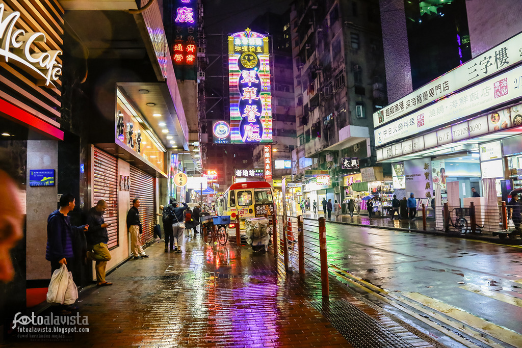 Nocturno Neon Street - Fotografía artística