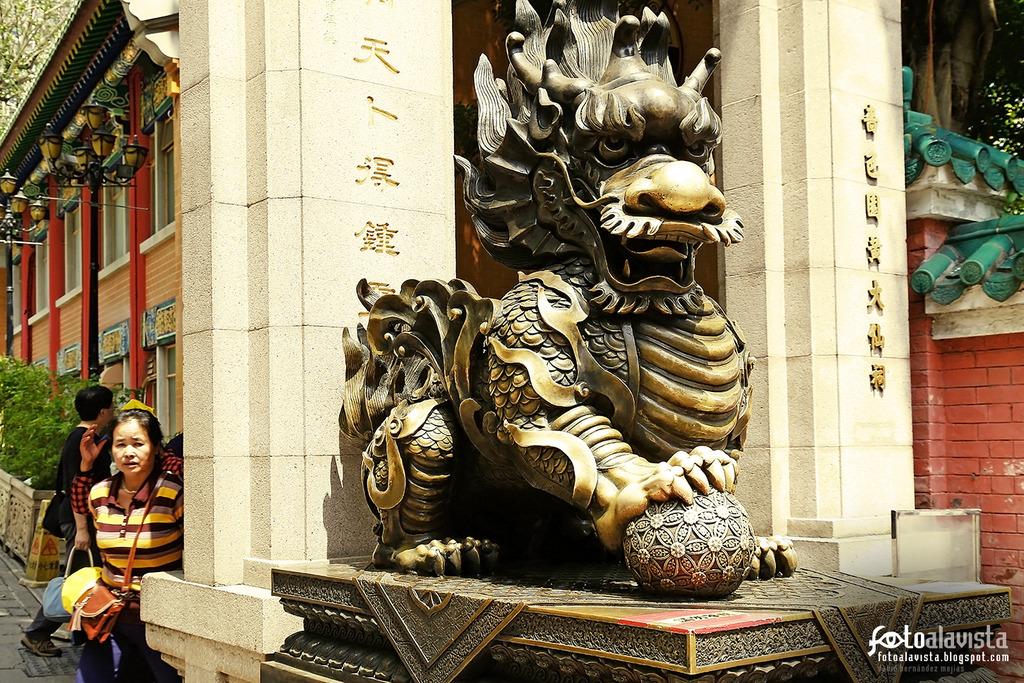 A la espalda del dragón - Fotografía artística