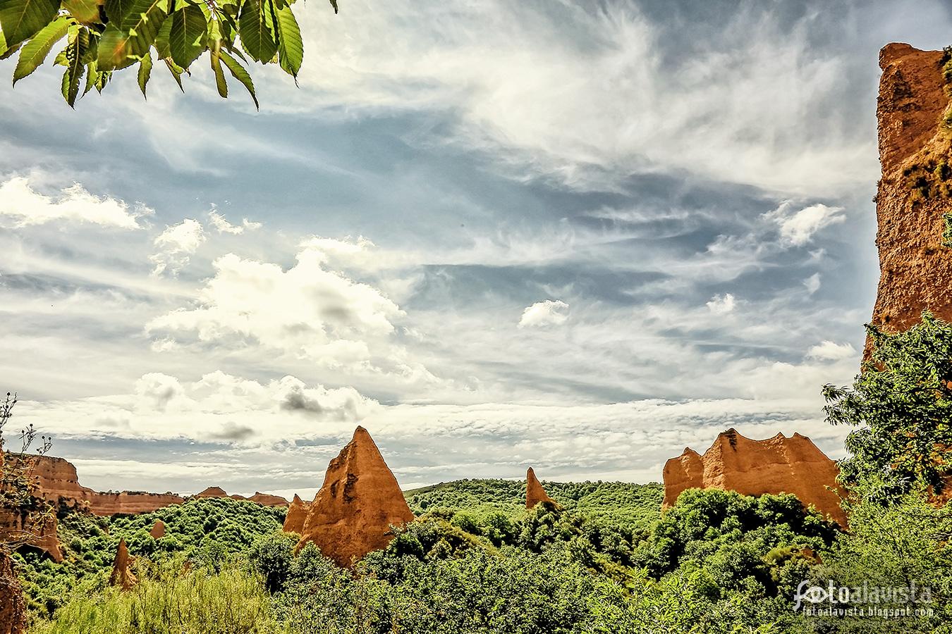 Un paisaje prehistórico - Fotografía