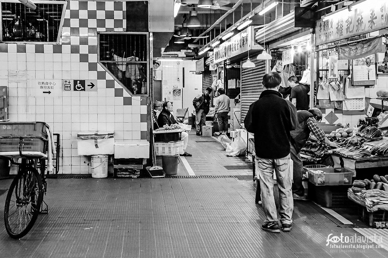 Hong Kong Market - Fotografía artística