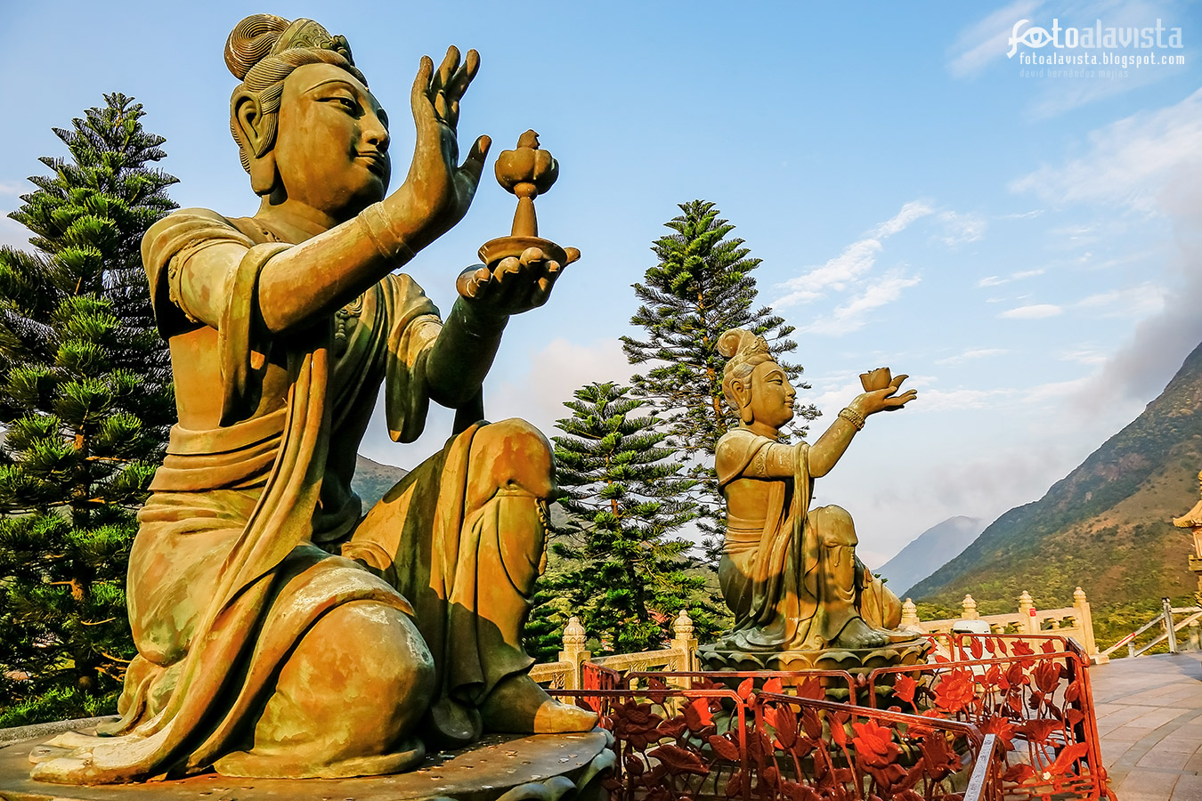 Ofrendas a Buda - Fotografía