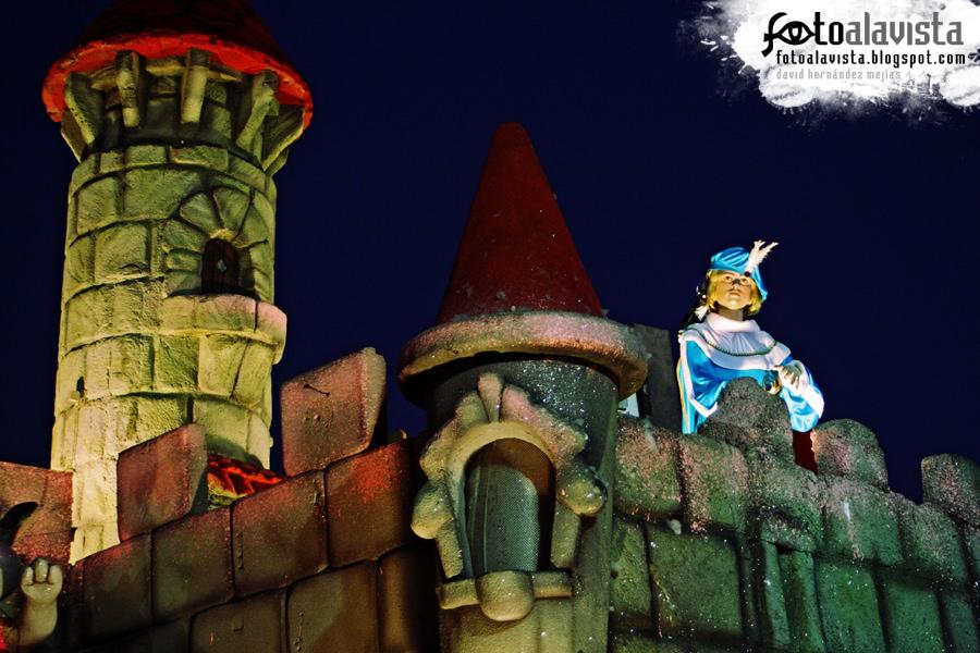 Príncipe en su castillo