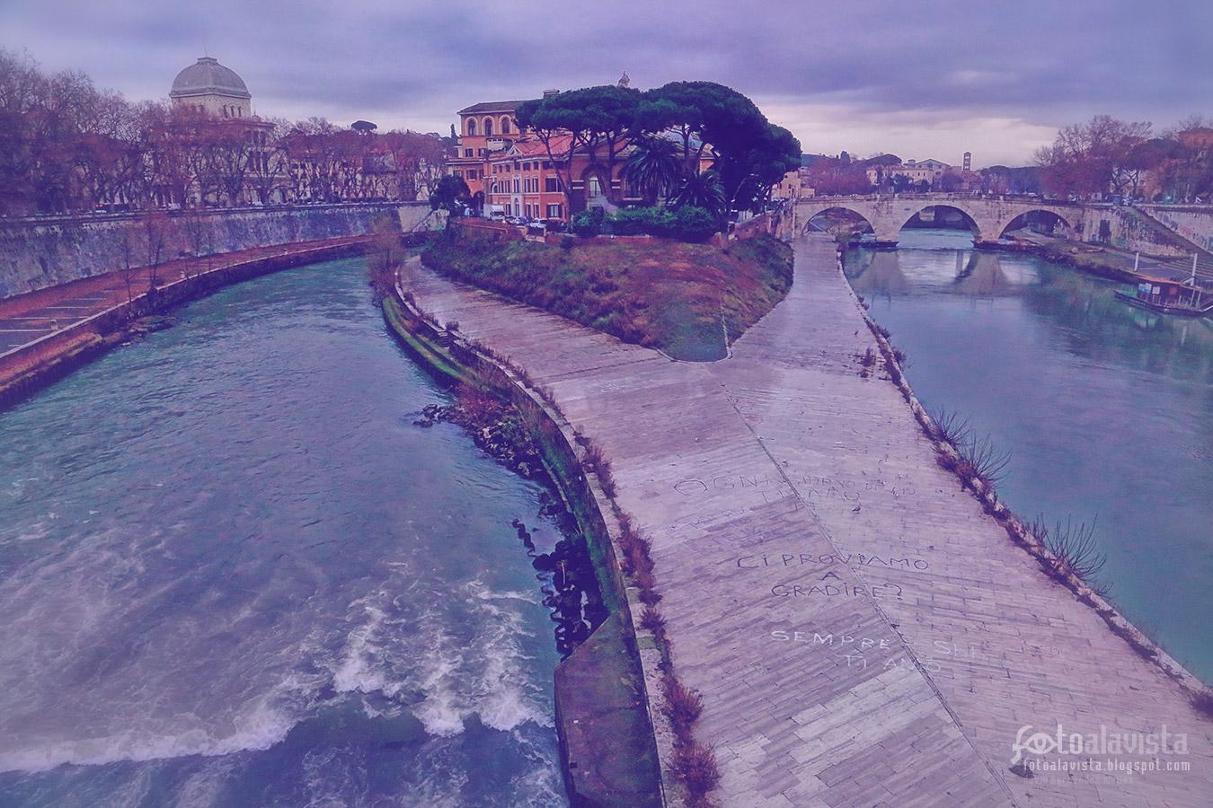 Donde Esculapio salvó a Roma de la peste - Fotografía