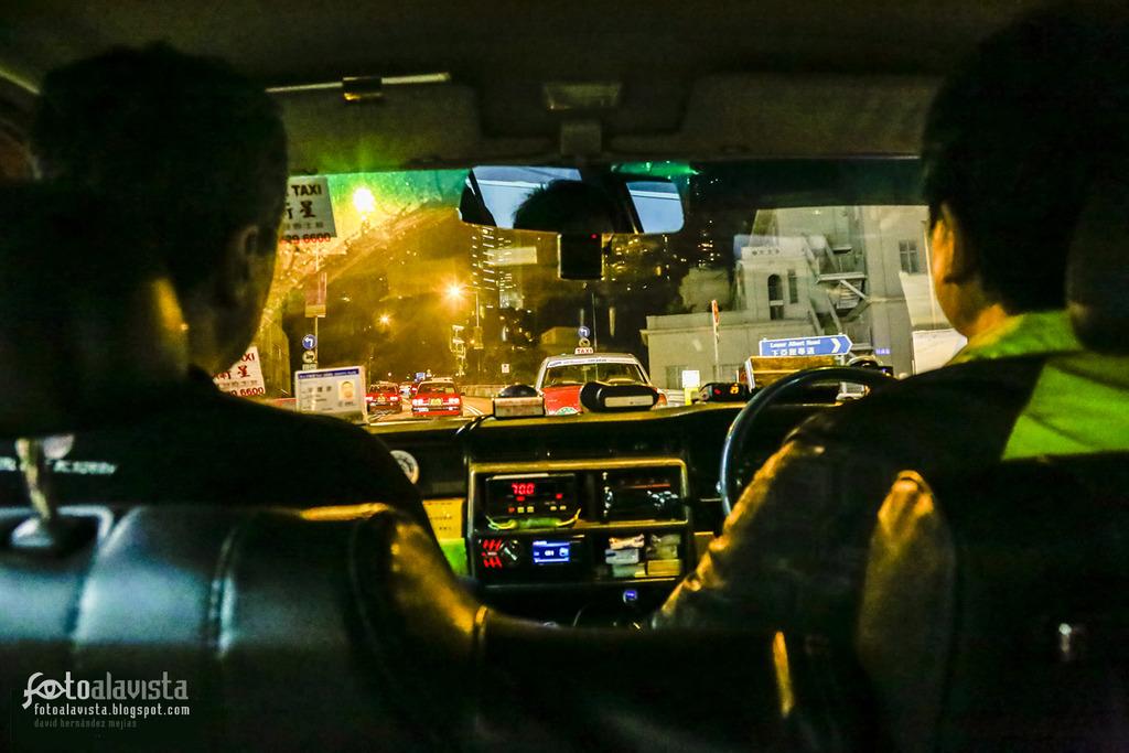 De taxi en taxi - Fotografía artística