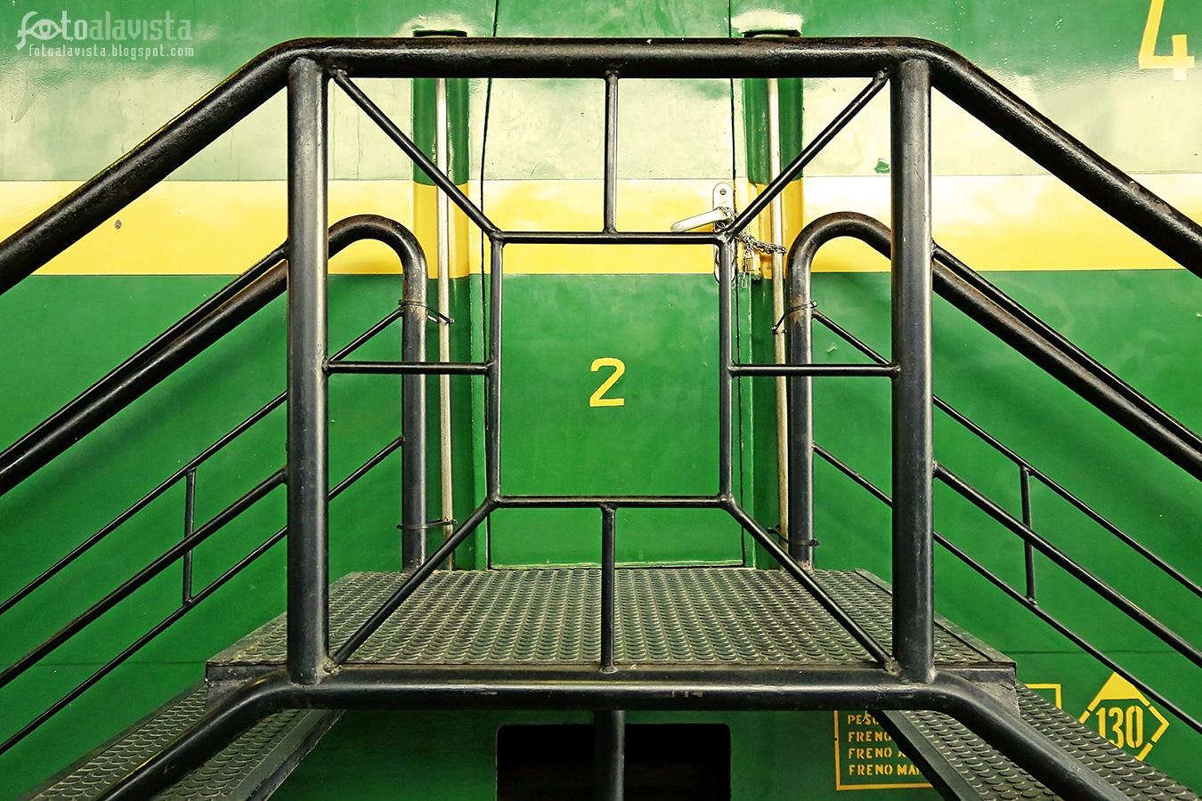 Encerra-DOS en el tren - Fotografía artística